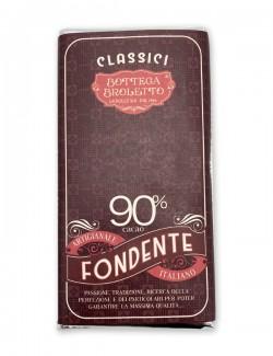 Bar of dark chocolate 90%