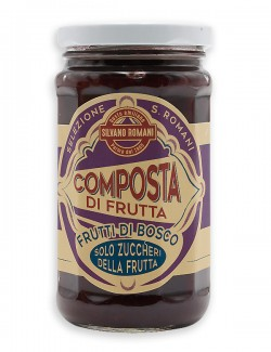 Wild berry compote, 230 g