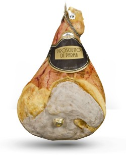 Bone-in  Leporati PDO Parma Ham dry cured for 22-24 months approx. 10.5 kg