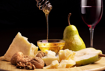 Parmigiano Reggiano's combinations